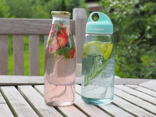 Infused Water Wasser mit Geschmack