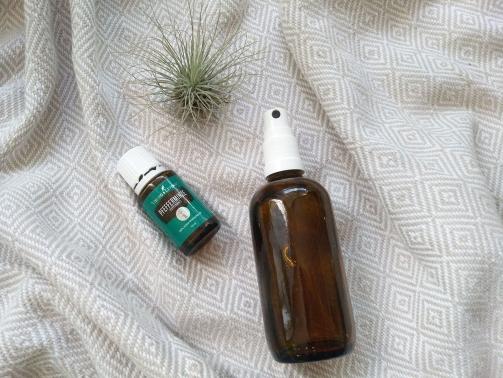 Erfrischendes DIY Body Spray mit Pfefferminzöl
