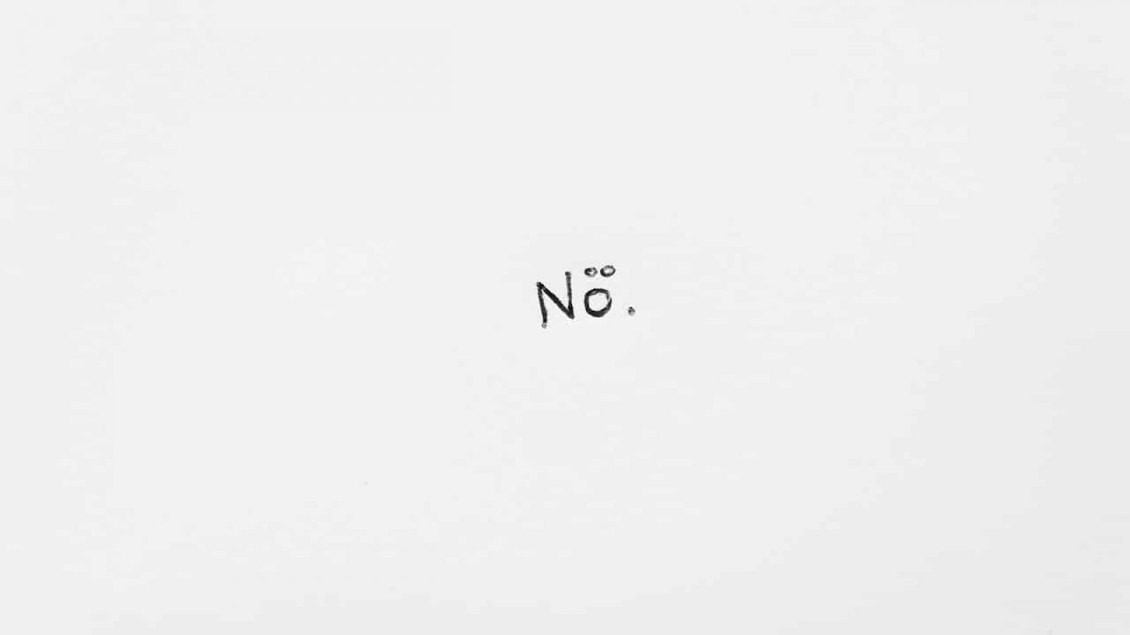 Nein-Sagen kann manchmal echt schwer sein. Dabei ist es eine der höchsten Formen von Selbstliebe und oftmals auch einfach dringend nötig.