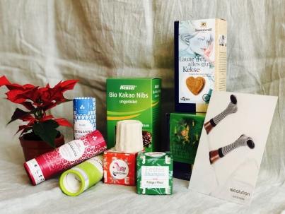 Pünktlich zum zweiten Advent startet unser zweites Gewinnspiel mit nachhaltigen, veganen Produkten.